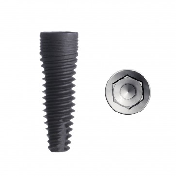 PCI Cylindrical dental Implant
