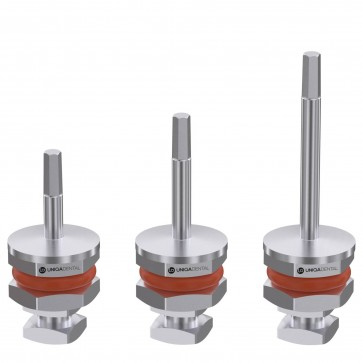 Ratchet driver for dental abutment screws 1.25mm