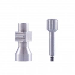 Transfer open tray for straight and angled multi unit abutments