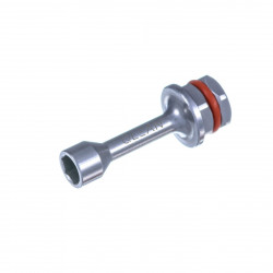 Ratchet key for staright multi unit abutment