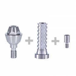 Straight Multi Unit Abutment with Titanium Sleeve
