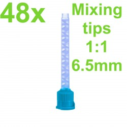 Green Mixing Tips, 6.5mm, 1:1