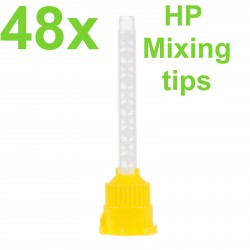 Yellow HP Mixing Tips, 4.2 mm, Small (Pack of 48)