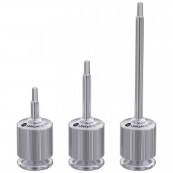 Manual hex screw driver for dental abutments 1.25mm